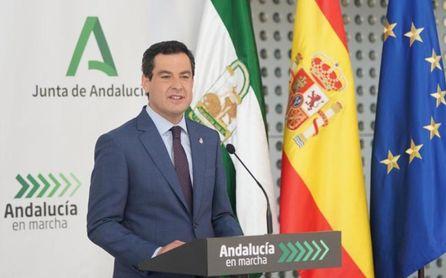 Moreno advierte a Sánchez, ofrece Andalucía para vacunar y avisa que quiere agotar la legislatura