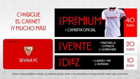 El Sevilla FC amplía el plazo para el carné simbólico.