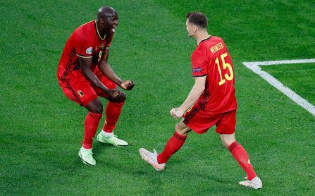3-0. Lukaku asusta a Rusia y Bélgica gana sin despeinarse