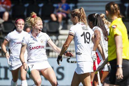 3-1. Bélgica se lleva el bronce femenino tras dominar con claridad a España