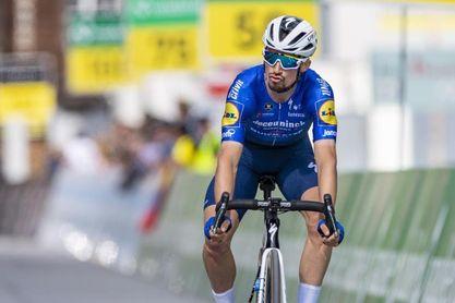 Alaphilippe se retira de la Vuelta a Suiza para ir al nacimiento de su hijo