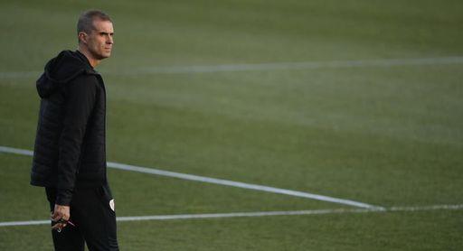 """Garitano avisa de que el Eibar necesitará tiempo para """"asimilar"""" el descenso"""