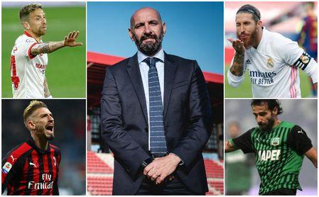 Monchi zanja de un plumazo cuatro rumores de mercado sobre el Sevilla: Sergio Ramos, Ferrari, Castillejo y Papu Gómez