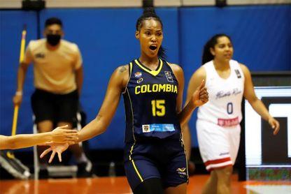 77.69 Puerto Rico vence a una luchada Colombia y clasifica a semifinal AmeriCup
