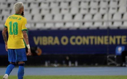 """Neymar, emocionado tras marcar con Brasil: """"Han sido dos años bien difíciles"""""""