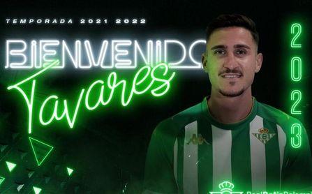 El Betis Deportivo anuncia el fichaje de Tavares