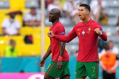 Cristiano Ronaldo iguala con Schick