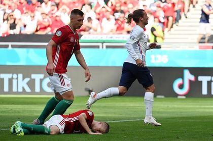 Griezmann, al podio de los goleadores de fases finales