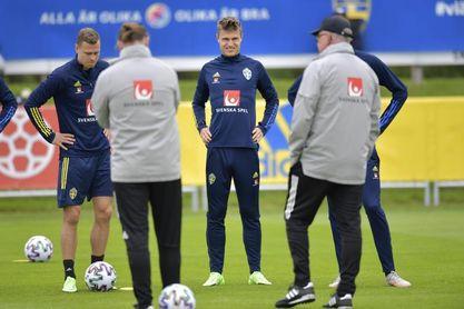 Svanberg regresa a los entrenamientos con Suecia tras positivo en covid 19