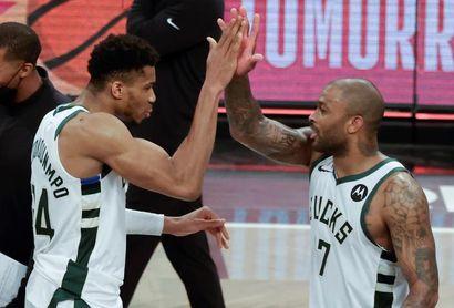 111-115. Antetokounmpo y los Bucks eliminan a los Nets