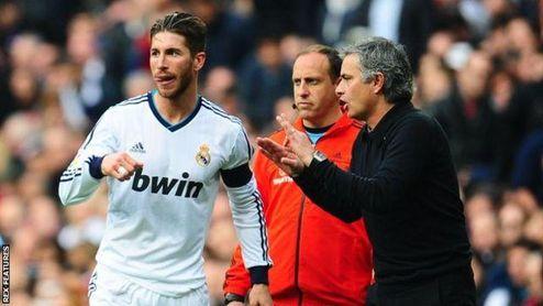 Mourinho le sigue la pista a Sergio Ramos
