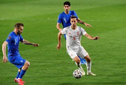 """Sergio Canales: """"Uno de los objetivos de la temporada era ir a la Eurocopa"""""""