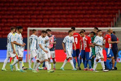Argentina avanza a cuartos y mira por retrovisor a Chile, Paraguay y Uruguay
