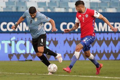 Los chilenos Erick Pulgar y Guillermo Maripán sufren lesiones tras el partido con Uruguay