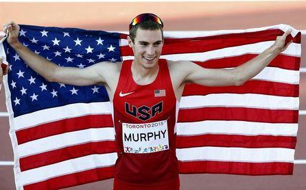 Clayton Murphy gana 800 metros masculinos y establece mejor marca este año