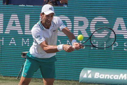 Djokovic y Gómez-Herrera comienzan con victoria en los dobles de Mallorca