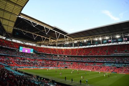 La UEFA agradece al gobierno británico el acuerdo para aumentar el público en Wembley