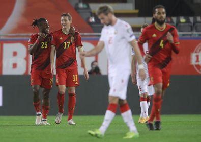 """Vanaken dice que Bélgica tiene """"jugadores con mucha calidad"""" para elegir"""