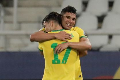 Casemiro dice que Brasil fue premiado tras casi 100 minutos de presión