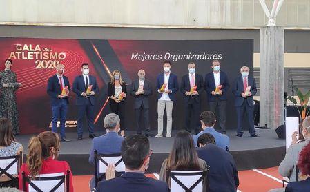 La RFEA premia a la Diputación de Sevilla como mejor organizado por el Cross de Itálica.