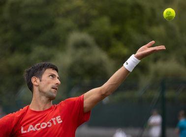 """Djokovic: """"Espero saber cómo es tener 20 Grand Slam en unos días"""""""