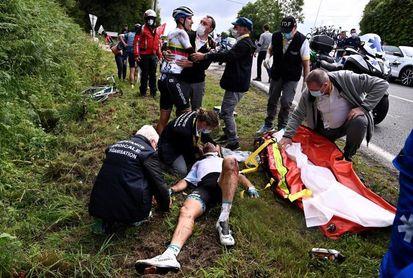 El Tour quiere denunciar a la espectadora que provocó una grave caída