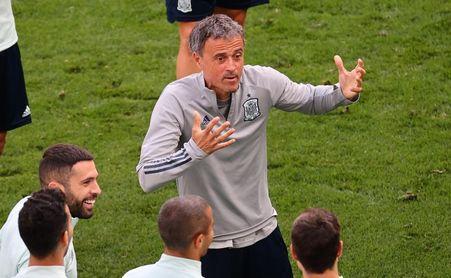 """Luis Enrique califica como """"delito grave"""" las amenazas a Morata"""