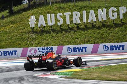 Verstappen refuerza el liderato al ganar en Estiria