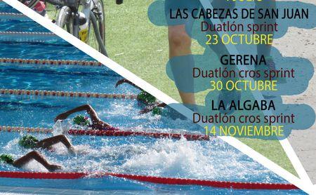 Diputación trabaja ya en la readaptación del Circuito provincial de duatlón y triatlón.