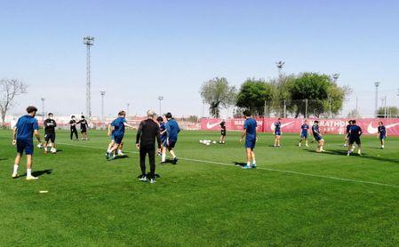 El Sevilla Atlético volverá al trabajo el 8 de julio.