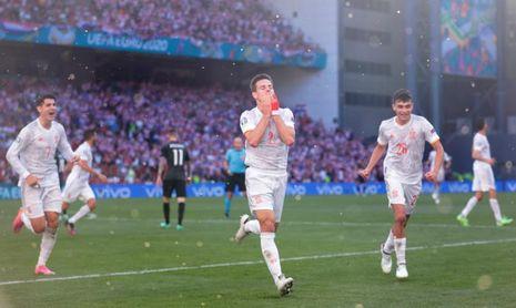 Suiza-España en cuartos de final