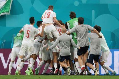 España igualó su mejor registro goleador en una fase final