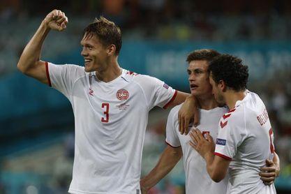 1-2. Dinamarca recupera el aroma del 92
