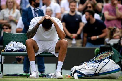 Kyrgios se retira de Wimbledon por lesión