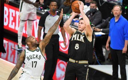 107-118: Los Bucks se imponen a los Hawks y jugarán la final contra los Suns