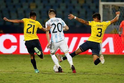 Ecuador perdió, pero ganó individualidades en la Copa América