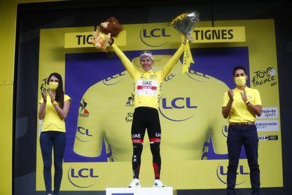 O'Connor gana en Tignes una etapa dantesca, Pogacar vuelve a golpear