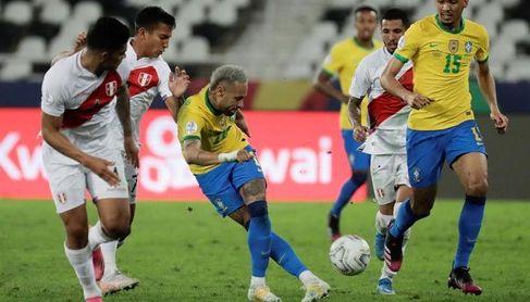 Brasil repite la historia con Perú y vuelve a jugar la final, ahora con Neymar