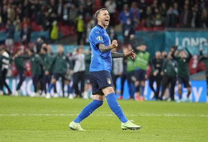 """Bernardeschi: """"Solo un loco dijo que podíamos llegar a la final, Mancini"""""""