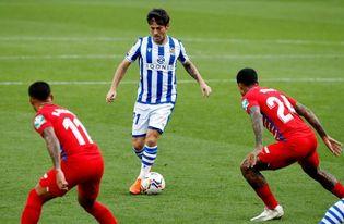 Silva, principal ausencia de la vuelta de la Real los entrenamientos