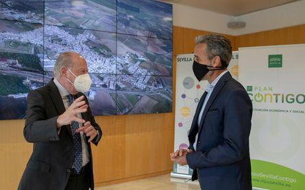 Carrión cerrará su campo de fútbol con el Plan Contigo de la Diputación