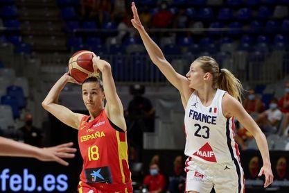 72-61. España gana a Francia en el primer amistoso de preparación para los JJOO