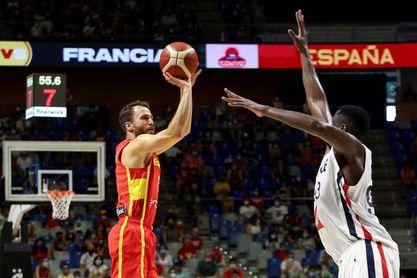 86-77. España supera a Francia en una actuación coral