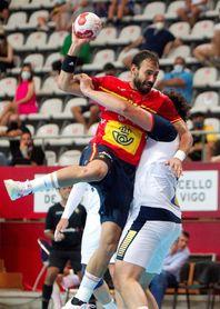 38-32. España destroza a Portugal con una sobresaliente defensa