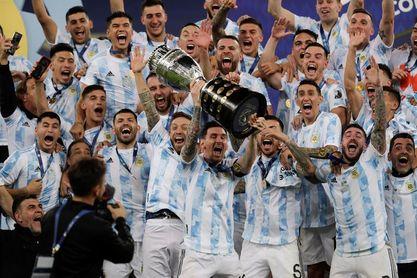 1-0. Argentina grita campeón y pone fin a un ayuno de 28 años sin títulos