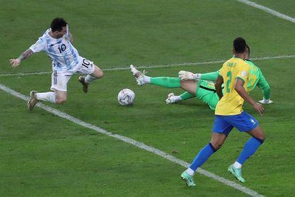 Lionel Messi y Luis Díaz, con cuatro goles, los goleadores de la Copa América