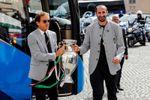"Mattarella felicita a Italia por ""honrar el deporte"" con un ""óptimo fútbol"""