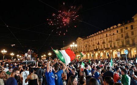 Más de 20 millones de italianos vieron la final de la Eurocopa por televisión