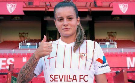 Rosa Otermín recorre el camino inverso al de Lara: del Betis, al Sevilla Femenino