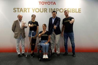 Toyota anima a sus embajadores olímpicos españoles a las puertas de Tokio
